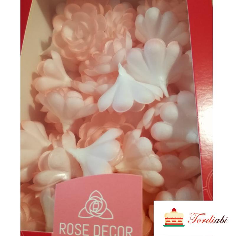 Tordiabi roosad varjundiga vahvliroosid