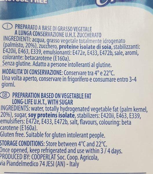 PROFESSIONAL CREM laktoosivaba veganitele