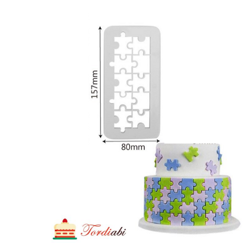 Tordiabi puzzle vorm keskmine