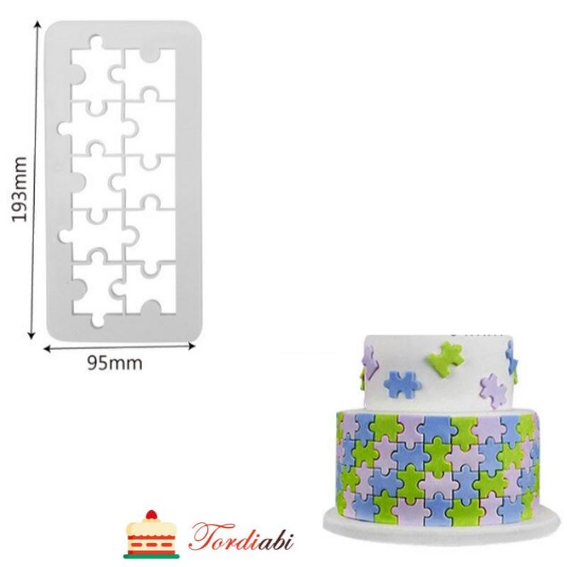 Tordiabi puzzle vorm suur
