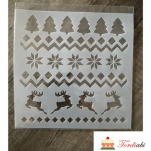 Tordiabi jõuluteemaline šabloon