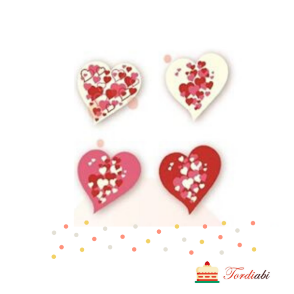 Tordiabi valgest šokolaadist südamed