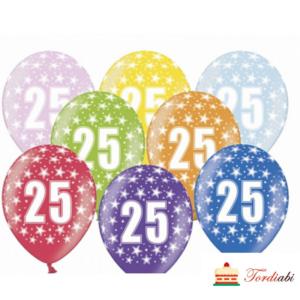 Tordiabi õhupallid 25