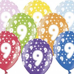 Tordiabi õhupallid number üheksa