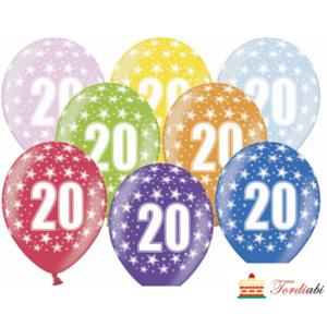Tordiabi õhupallid number 20