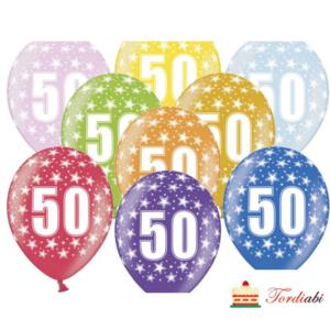 Tordiabi õhupallid number 50