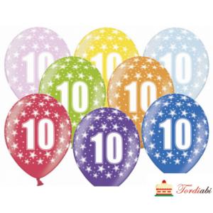 Tordiabi õhupallid number kümme