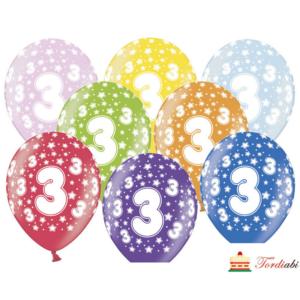 Tordiabi õhupallid number kolm