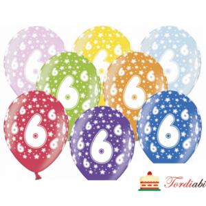 Tordiabi õhupallid number kuus