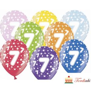 Tordiabi õhupallid number seitse