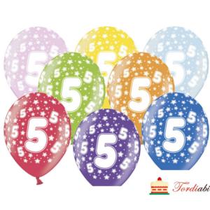 Tordiabi õhupallid number viis