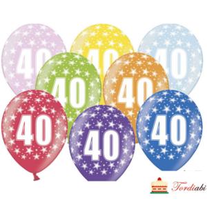 Tordiabi õhupllid number 40