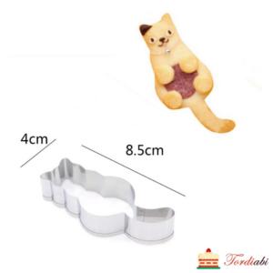 Tordiabi kass otsevaates metallvorm