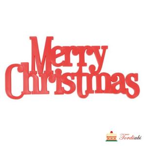 Tordiabi merry christmas topper
