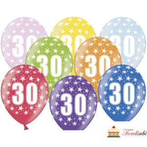 Tordiabi number 30 õhupallid