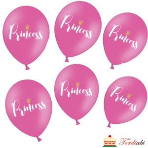 Tordiabi printsess õhupallid