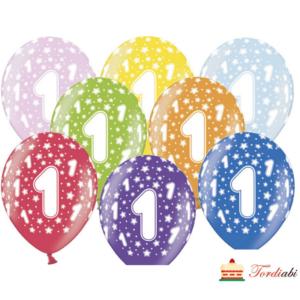 Tordiabi värvilised õhpallid number 1