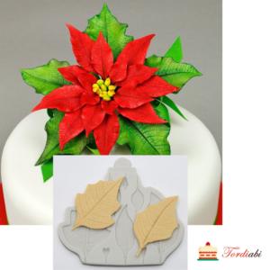 Tordiabi jõulutähe silikoonvorm