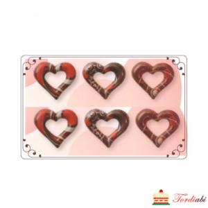 Tordiabi tumedast šokolaadist südamed