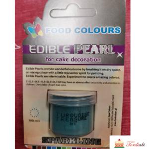 Tordiabi sädelev pulber turquoise