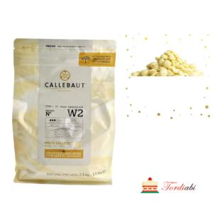 Tordiabi callebaut valge šokolaadi kuvertüür 2,5kg