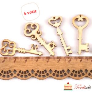 Tordiabi puidust väikesed võtmed
