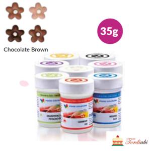 Tordiabi šokolaadipruun geel-toiduvärv