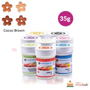 Tordiabi kakaopruun geel-toiduvärv