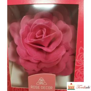 Tordiabi suur fuksiaroosa roos