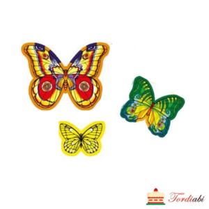 Tordiabi vahvlist liblikad