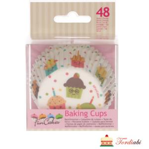 Tordiabi muffini küpsetusvormid muffinitega 48