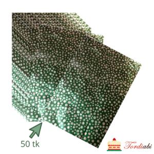 Tordiabi tumerohelised täpilised kommipaberid 50 tk