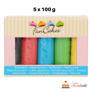 Tordiabi värvilised suhkrumassid 5 x 100 g