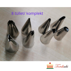 Tordiabi 8 tüllet_ komplekt