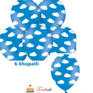 Tordiabi pilvedega õhupallid