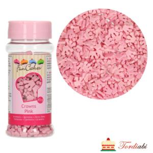 Tordiabi puiste roosad printsessi kroonid