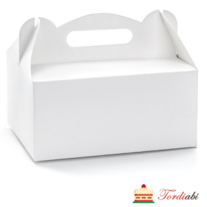 Tordiabi valge sangaga koogikarp