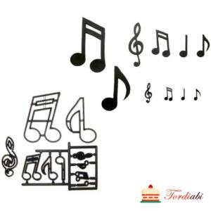 Tordiabi šabloon noodid, muusika
