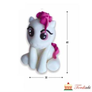 Tordiabi my little pony valge roosa tukaga