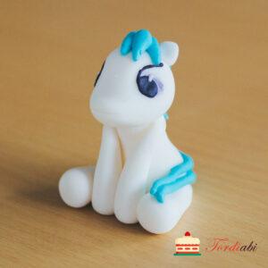 Tordiabi my poni ükssarv sinise tukaga