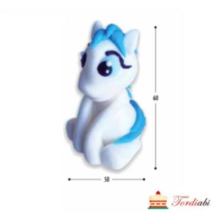 Tordiabi my pony ükssarv sinise tukaga