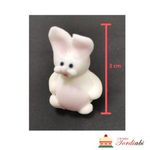 Tordiabi suhkrust väike valge jänes