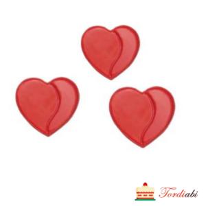 Tordiabi 3d südamed šokolaadist