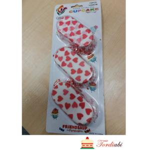 Tordiabi pikliku kujuga muffini küpsetusvormid südametega