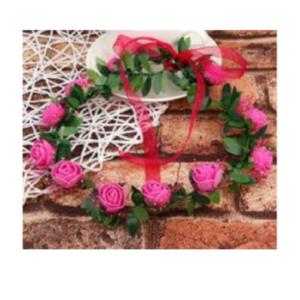 Tordiabi tumeroosade roosidega pruudipärg