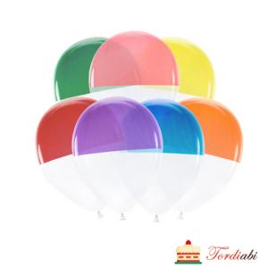 Tordiabi värvilised poolikud õhupallid