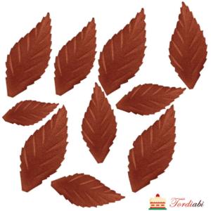 Tordiabi vahvlist pruunid lehed