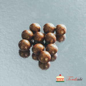 Tordiabi vasekarva suured krõbedad sokolaadipallid