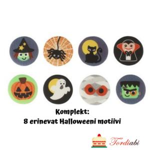 Tordiabi 8 erinevat Halloweeni motiivi suhkrumassist
