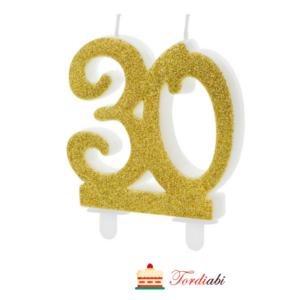 Tordiabi kuldne küünal 30